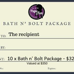 Bath n' Bolt package
